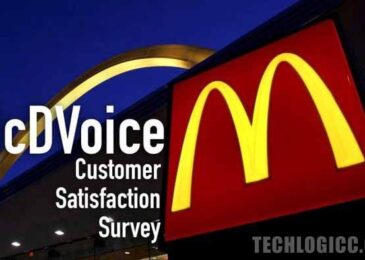 www.McDVoice.com – McDonald's Customer Satisfaction Survey