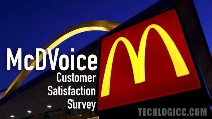 www.McDVoice.com – McDonald's Customer Satisfaction Survey