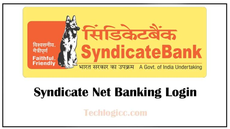 Syndicate Net Banking Login