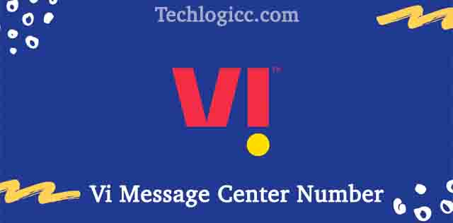 Vi Message Center Number