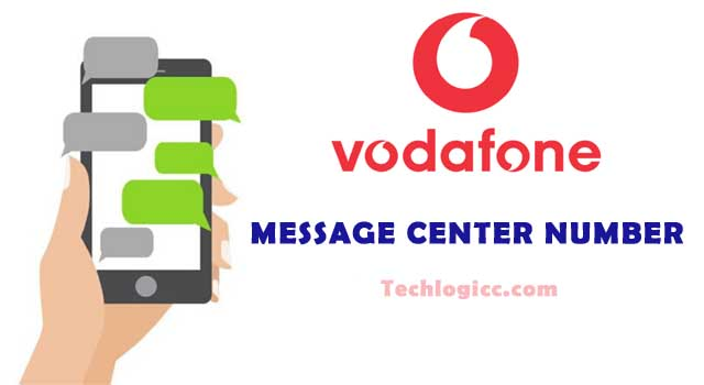 Vodafone Message Center Number