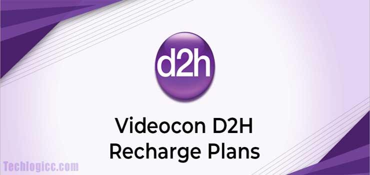videocon d2h plans