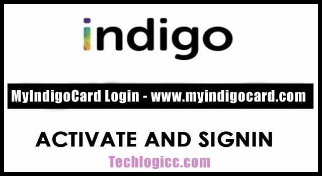 myindigocard login