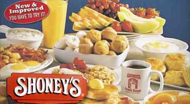 Shoneys Breakfast Hours