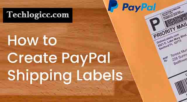 PayPal Create Shipping Label