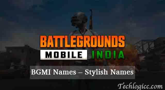 BGMI Names