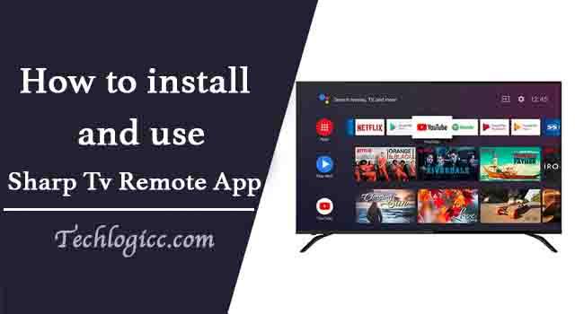 Sharp TV Remote App